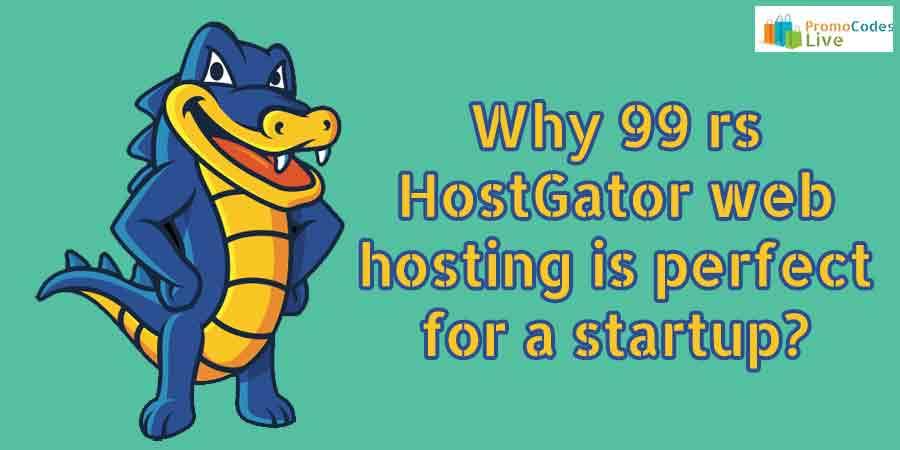99 rs HostGator hosting
