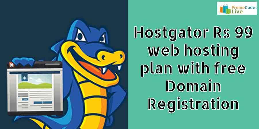 Hostgator Rs 99