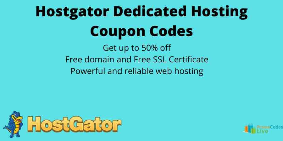 Hostgator dedicated hosting coupon
