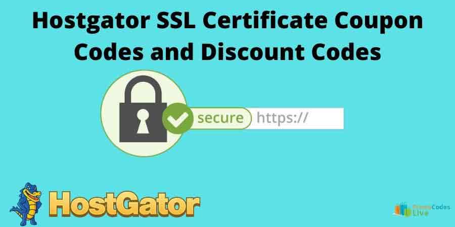 Hostgator ssl certificate coupon