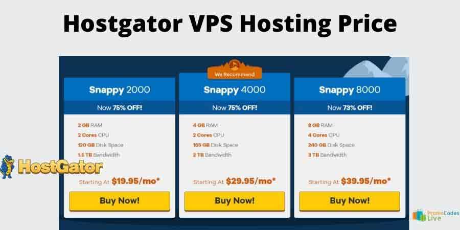 Hostgator vps hosting plan