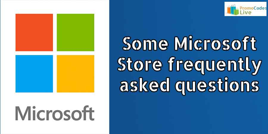 Microsoft Store questions