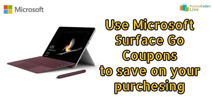 Microsoft Surface Go coupons