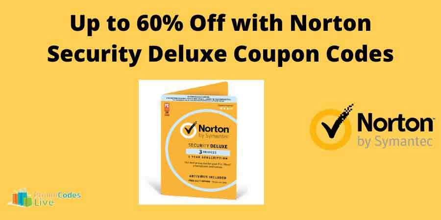 Norton Security Deluxe Coupon Codes