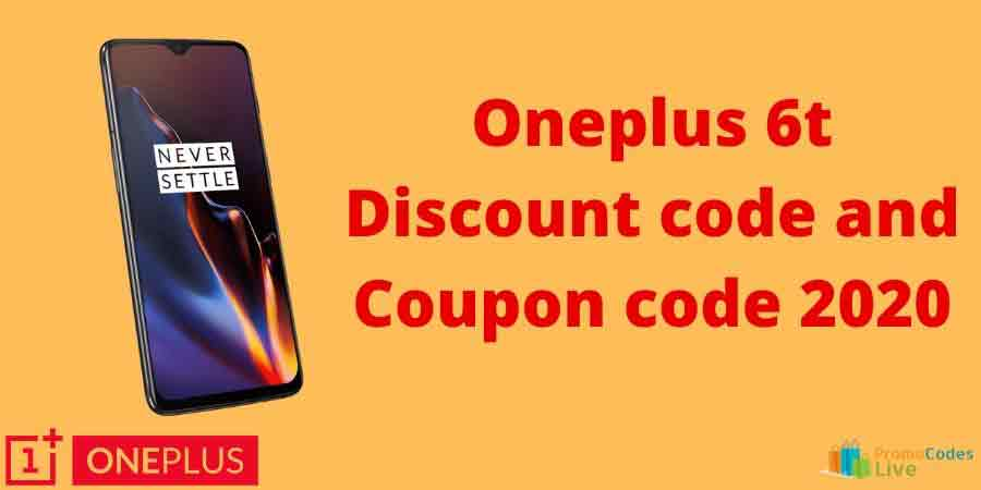 Oneplus 6t coupon code