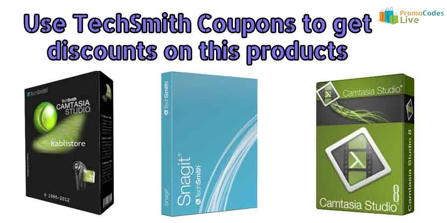 TechSmith coupons