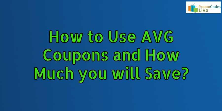Use AVG Coupon Codes