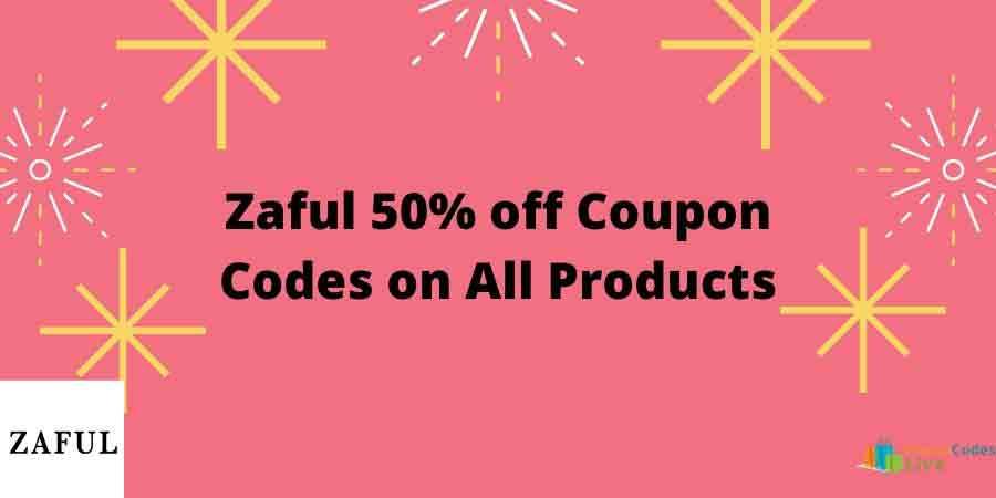 Zaful 50 off coupon