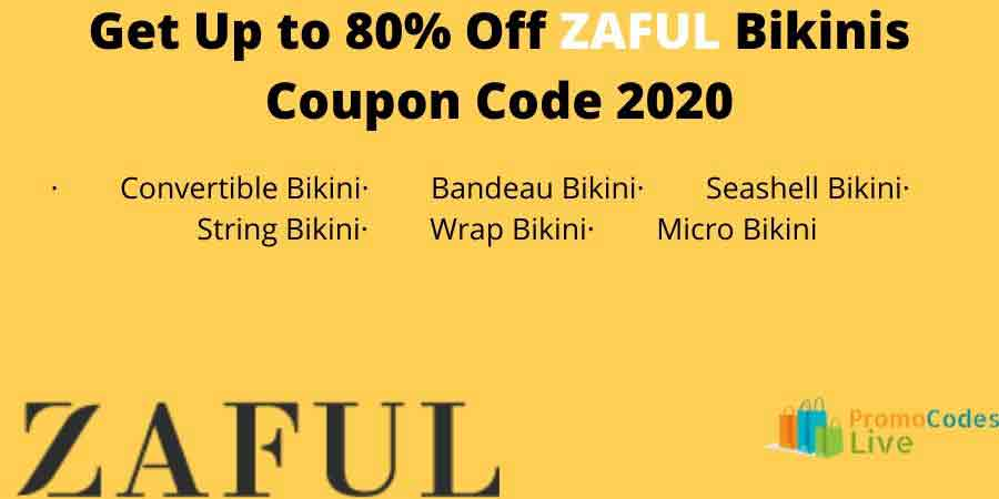 Zaful bikini coupon