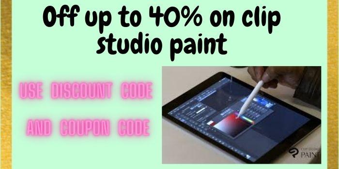 Clip Studio Paint Discount Code