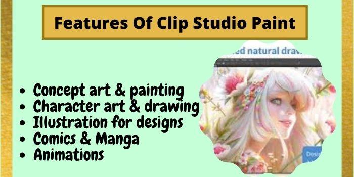 Features Of Clip Studio Paint