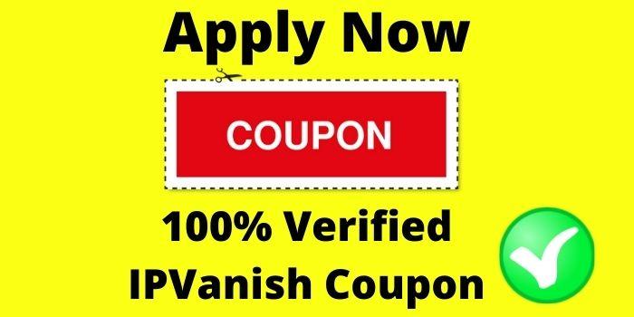 Apply ipvanish VPN coupon